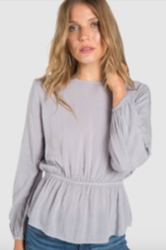 Bella Dahl V Back Tie Blouse - Product List Image