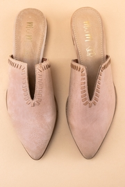 MiiM V-Cut Pointed Mule - Front cropped