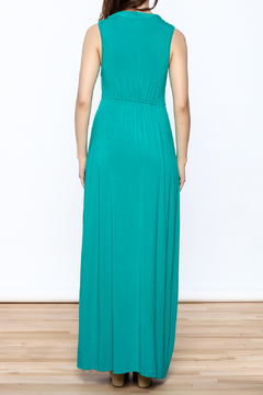 V Fish Jade Maxi Dress - Alternate List Image
