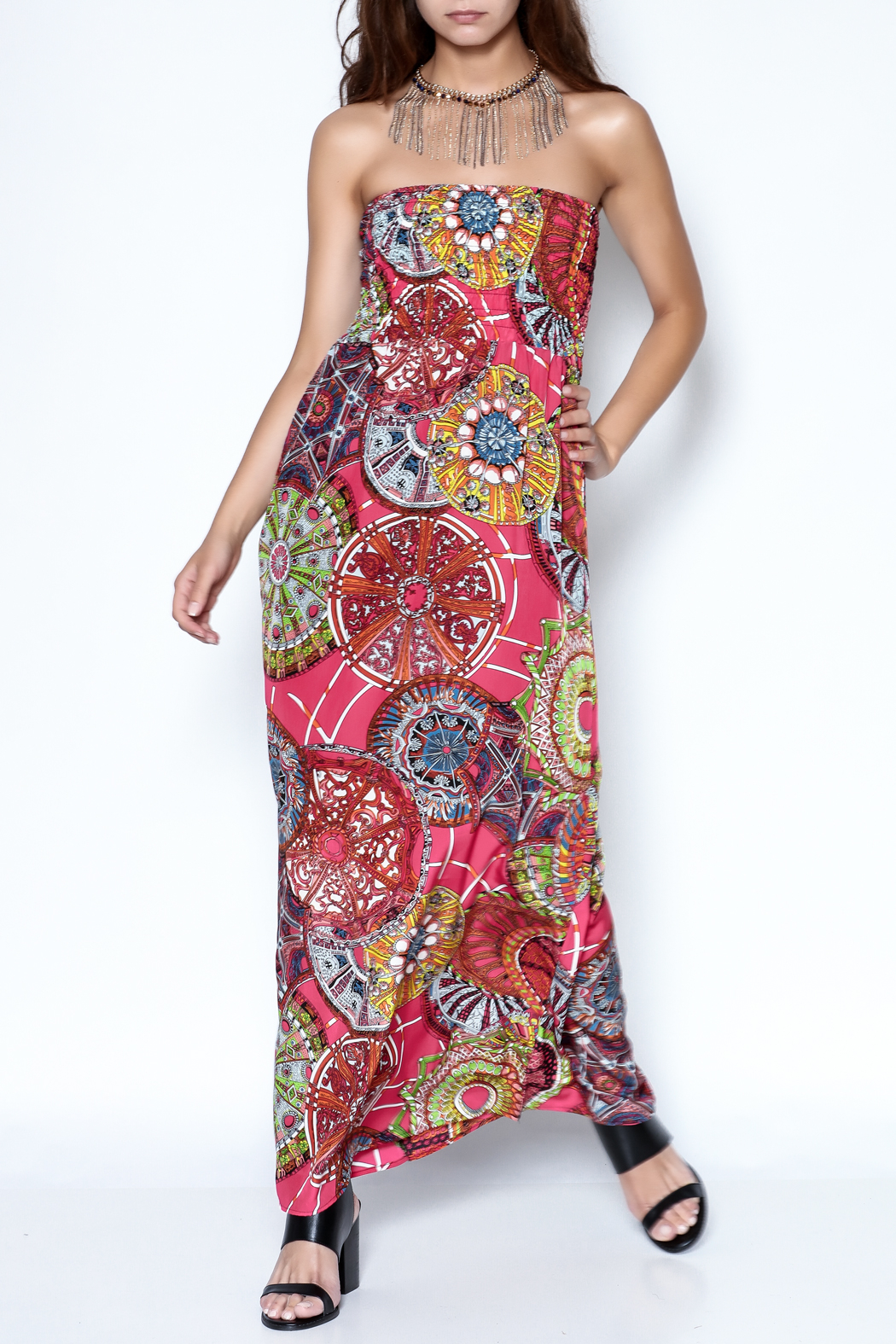V Fish Julianna Maxi Dress - Main Image