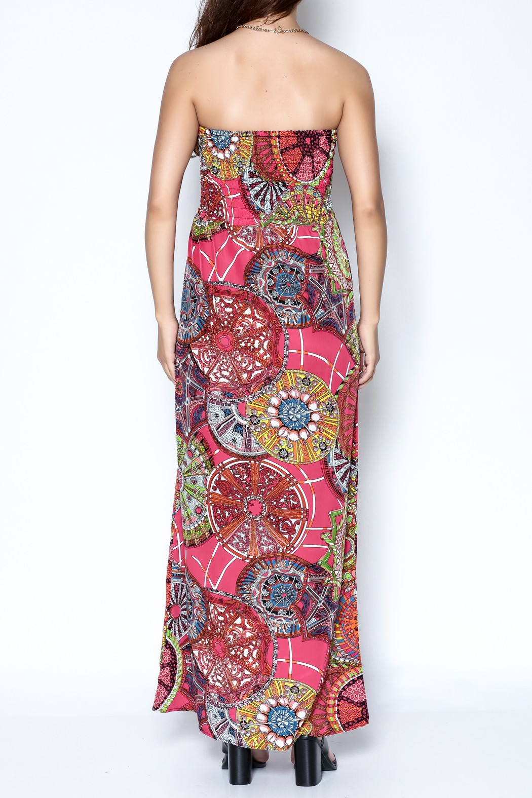 V Fish Julianna Maxi Dress - Back Cropped Image