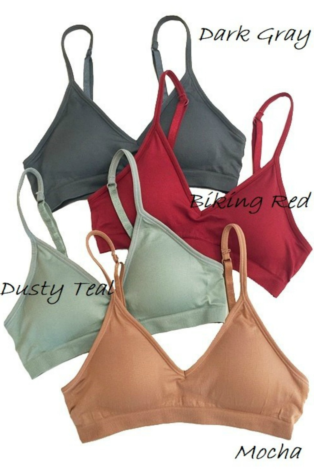 Anemone V Front Bra - Front Cropped Image