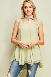 Entro V-Neck Asymmetrical Top - Product Mini Image