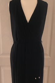 Joseph Ribkoff  V-Neck black  dress - Product Mini Image