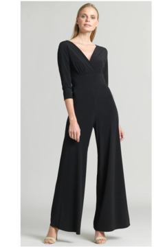 Clara Sunwoo V Neck Black JumpSuit - Product List Image