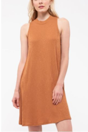 blu Pepper  V-Neck Cami Knit Dress with Contrast Tie Back - Product Mini Image