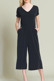 Clara Sunwoo V-Neck Cropped Jumpsuit - Product Mini Image