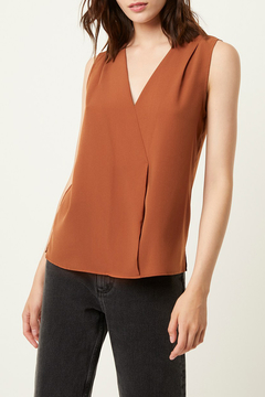 French Connection V NECK CROSSOVER TOP - Product List Image