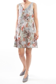 Clara Kaesdorf V-Neck Dress Flower - Product Mini Image