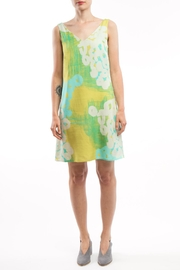 Clara Kaesdorf V-Neck Dress Yellow - Product Mini Image