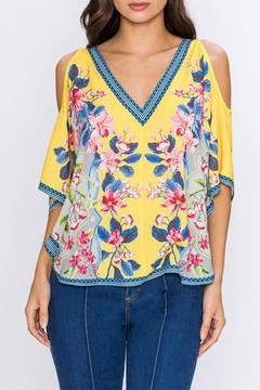 Shoptiques Product: V-Neck Fashion  Top