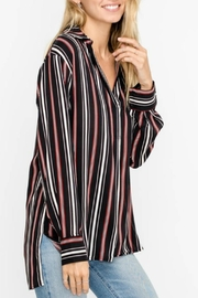 Lush V-Neck Flowy Blouse - Product Mini Image