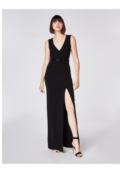 Nicole Miller V-Neck Gown - Product List Image