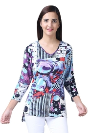 Parsley & Sage V-Neck Hi-Lo Tunic - Product Mini Image