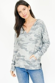 Six Fifty V Neck Hoodie - Product Mini Image