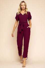 Gilli  V-Neck Jumpsuit - Product Mini Image