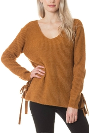 Love Tree V-Neck Knit Sweater - Product Mini Image