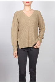 Final Touch V-Neck Knit Sweater - Product Mini Image
