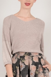 Molly Bracken V-Neck Knit Sweater - Product Mini Image