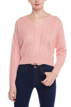 Shoptiques Product: v-Neck Knit Sweater