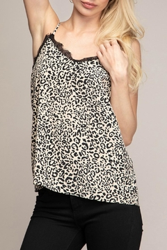 Naked Zebra V-Neck Leopard Cami-Top - Product List Image