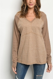 Lyn -Maree's V Neck Long Sleeve - Product Mini Image
