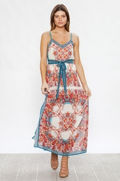 Unknown Factory V Neck Maxi - Alternate List Image
