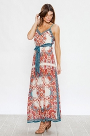 Unknown Factory V Neck Maxi - Product Mini Image