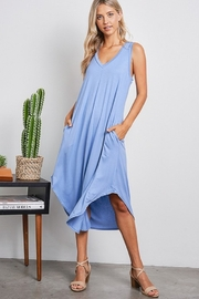 Jolie V-Neck Maxi Dress - Product Mini Image