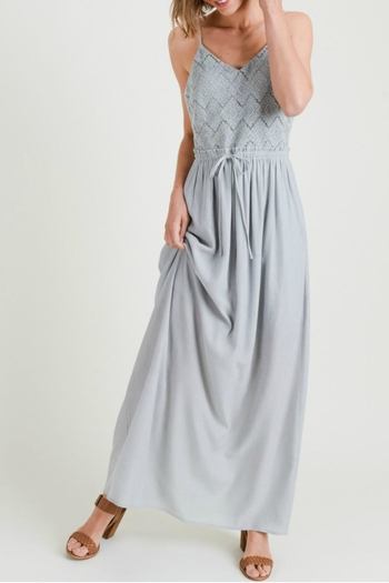 Doe & Rae V-Neck Maxi Dress from California by Tu Si Bella Boutique — Shoptiques