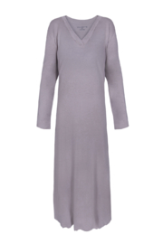 VELVETTE V-Neck Nightgown - Front cropped
