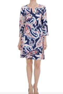 Shoptiques Product: V-Neck Paisley Dress