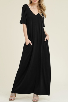 Shoptiques Product: V-Neck/pocket Maxi Dress