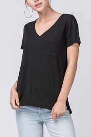 Double Zero V-Neck Pocket Tee - Product Mini Image