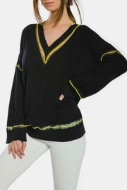 Kendall + Kylie V-Neck Pullover - Product Mini Image