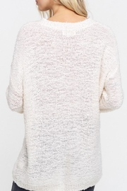 Listicle V-Neck Pullover - Side cropped