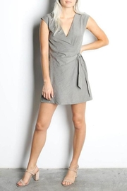 Mod Ref V Neck Romper - Product Mini Image