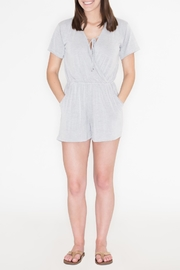 Cherish V-Neck Romper - Product Mini Image