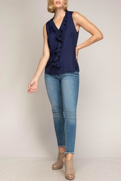 ALB Anchorage V-Neck Ruffle Blouse - Alternate List Image