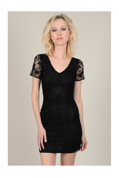 Shoptiques Product: V-Neck Sequin Dress