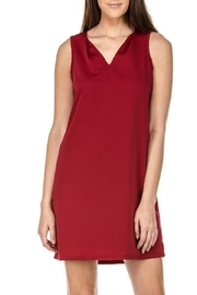 Jade V-Neck Sheath Dress - Product Mini Image