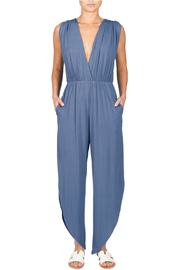 Elan V-neck sleeveless jumpsuit - Product Mini Image
