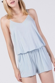 Double Zero V-Neck Sleeveless Romper - Product Mini Image