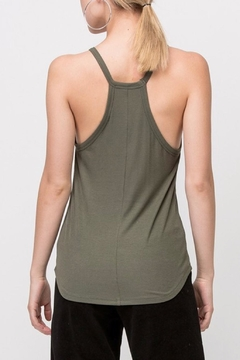 Double Zero V-Neck Sleeveless Top - Alternate List Image