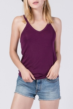 Double Zero V-Neck Sleeveless Top - Product List Image