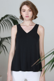 COA V-Neck Sleeveless Top - Product Mini Image