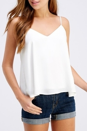 Caramela V-Neck Solid Tank - Product Mini Image