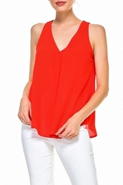 TCEC V-Neck Solid Tank - Product Mini Image