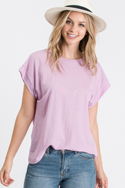 Tres Bien V-Neck SS Tee - Product Mini Image
