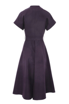 Martin Grant V-NECK STRUCTURED COTTON DRESS - Product List Image